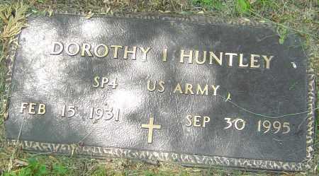 HUNTLEY, DOROTHY I - Franklin County, Ohio | DOROTHY I HUNTLEY - Ohio Gravestone Photos