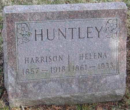 HUNTLEY, HARRISON - Franklin County, Ohio | HARRISON HUNTLEY - Ohio Gravestone Photos