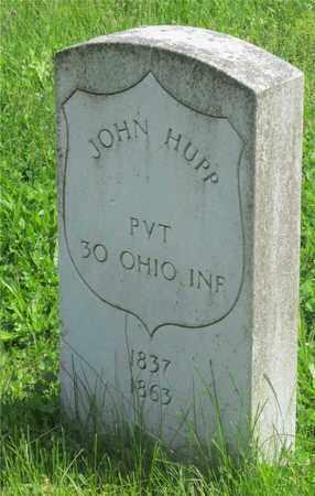 HUPP, JOHN - Franklin County, Ohio | JOHN HUPP - Ohio Gravestone Photos