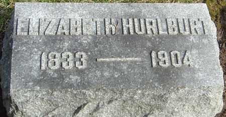 HURLBURT, ELIZABETH - Franklin County, Ohio | ELIZABETH HURLBURT - Ohio Gravestone Photos
