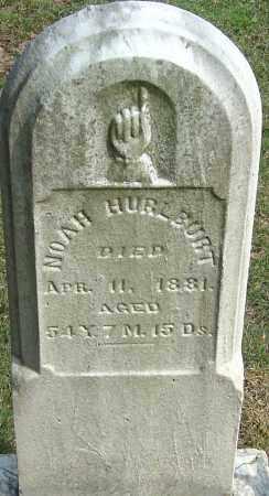 HURLBURT, NOAH - Franklin County, Ohio | NOAH HURLBURT - Ohio Gravestone Photos