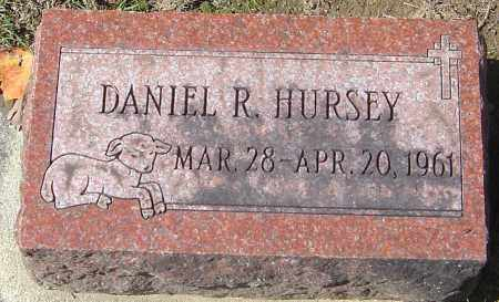 HURSEY, DANIEL R - Franklin County, Ohio | DANIEL R HURSEY - Ohio Gravestone Photos