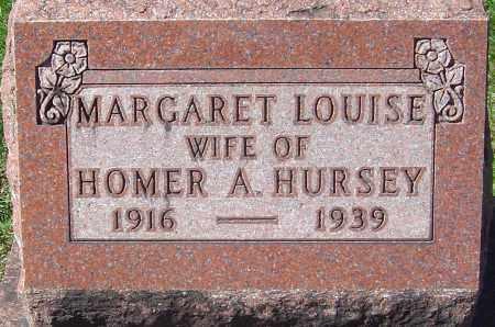 CAVEY HURSEY, MARGARET LOUISE - Franklin County, Ohio | MARGARET LOUISE CAVEY HURSEY - Ohio Gravestone Photos