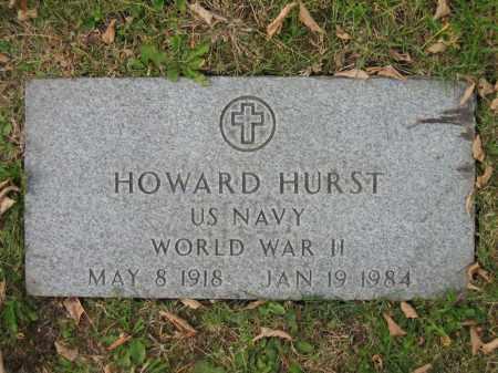 HURST, HOWARD - Franklin County, Ohio   HOWARD HURST - Ohio Gravestone Photos