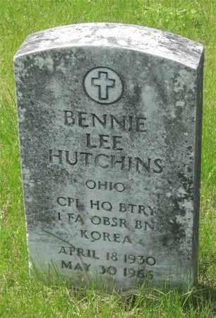 HUTCHINS, BENNIE LEE - Franklin County, Ohio   BENNIE LEE HUTCHINS - Ohio Gravestone Photos