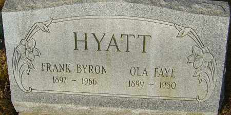 HYATT, OLA FAYE - Franklin County, Ohio | OLA FAYE HYATT - Ohio Gravestone Photos