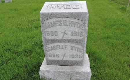 HYDE, JAMES B - Franklin County, Ohio | JAMES B HYDE - Ohio Gravestone Photos