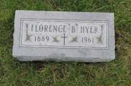 HYER, FLORENCE B. - Franklin County, Ohio | FLORENCE B. HYER - Ohio Gravestone Photos