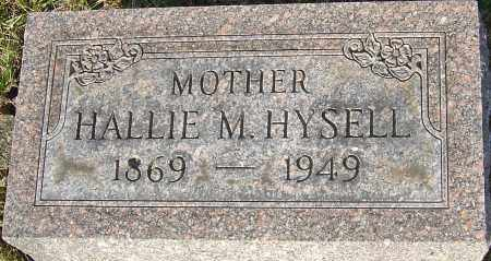 HYSELL, HALLIE - Franklin County, Ohio | HALLIE HYSELL - Ohio Gravestone Photos