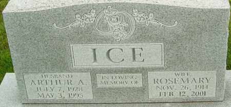 ICE, ROSEMARY - Franklin County, Ohio | ROSEMARY ICE - Ohio Gravestone Photos