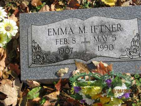 IFTNER, EMMA MARGARET - Franklin County, Ohio | EMMA MARGARET IFTNER - Ohio Gravestone Photos