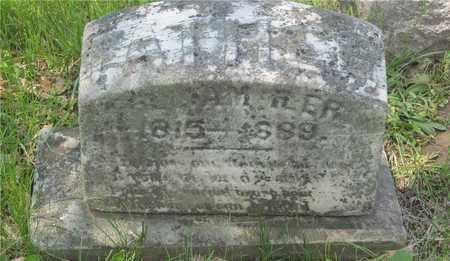 ILLER, WILLIAM - Franklin County, Ohio   WILLIAM ILLER - Ohio Gravestone Photos