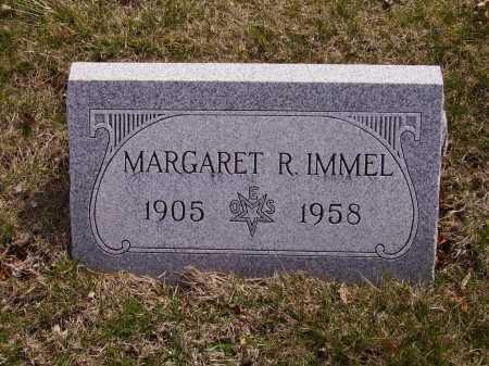 IMMEL, MARGARET R. - Franklin County, Ohio | MARGARET R. IMMEL - Ohio Gravestone Photos
