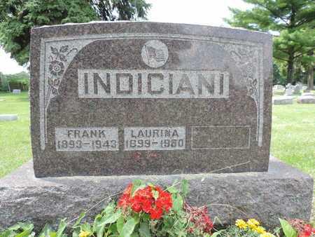 INDICIANI, LAURINA - Franklin County, Ohio | LAURINA INDICIANI - Ohio Gravestone Photos