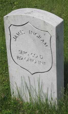 INGRAM, JAMES - Franklin County, Ohio | JAMES INGRAM - Ohio Gravestone Photos