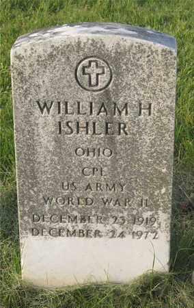 ISHLER, WILLIAM H. - Franklin County, Ohio | WILLIAM H. ISHLER - Ohio Gravestone Photos