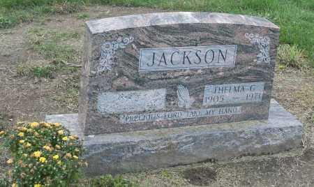 INSKEEP JACKSON, THELMA G - Franklin County, Ohio | THELMA G INSKEEP JACKSON - Ohio Gravestone Photos