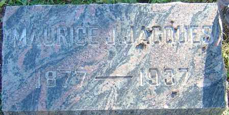 JACQUES, MAURICE J - Franklin County, Ohio | MAURICE J JACQUES - Ohio Gravestone Photos