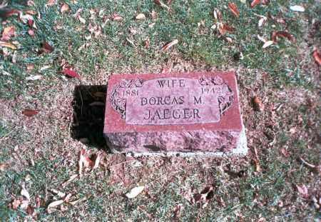 JAEGER, DORCAS M. - Franklin County, Ohio   DORCAS M. JAEGER - Ohio Gravestone Photos