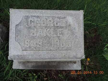 JAKLE, GEORGE - Franklin County, Ohio   GEORGE JAKLE - Ohio Gravestone Photos