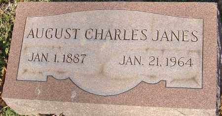 JANES, AUGUST CHARLES - Franklin County, Ohio | AUGUST CHARLES JANES - Ohio Gravestone Photos