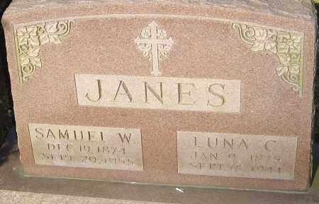 JANES, SAMUEL W - Franklin County, Ohio | SAMUEL W JANES - Ohio Gravestone Photos