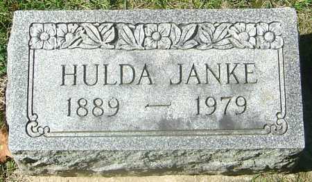 JANKE, HULDA - Franklin County, Ohio | HULDA JANKE - Ohio Gravestone Photos