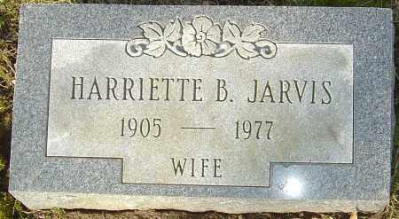 JARVIS, HARRIETTE B - Franklin County, Ohio | HARRIETTE B JARVIS - Ohio Gravestone Photos