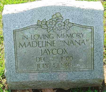 JAYCOX, MADELINE - Franklin County, Ohio   MADELINE JAYCOX - Ohio Gravestone Photos