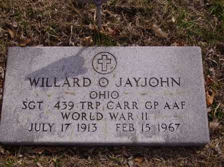 JAYJOHN, WILLIARD O.- MILITARY - Franklin County, Ohio | WILLIARD O.- MILITARY JAYJOHN - Ohio Gravestone Photos