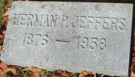 JEFFERS, HERMAN P - Franklin County, Ohio | HERMAN P JEFFERS - Ohio Gravestone Photos