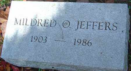 JEFFERS, MILDRED O - Franklin County, Ohio | MILDRED O JEFFERS - Ohio Gravestone Photos