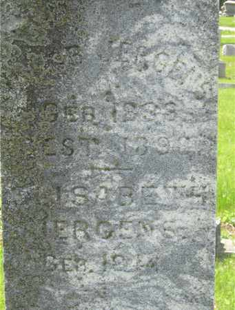 JERGENS, ELISABETH - Franklin County, Ohio   ELISABETH JERGENS - Ohio Gravestone Photos