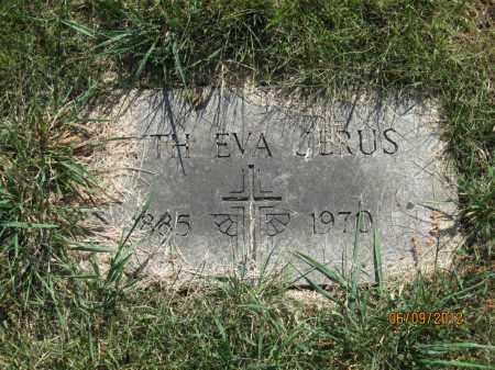 JERUS, FAITH EVA - Franklin County, Ohio | FAITH EVA JERUS - Ohio Gravestone Photos