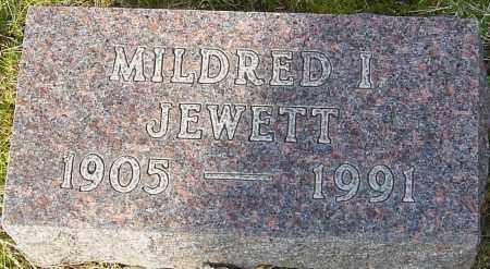 JEWETT, MILDRED I - Franklin County, Ohio | MILDRED I JEWETT - Ohio Gravestone Photos
