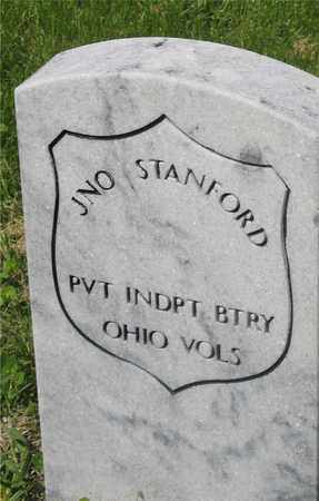 JNO., STANFORD - Franklin County, Ohio   STANFORD JNO. - Ohio Gravestone Photos