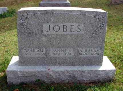 JOBES, WILLIAM - Franklin County, Ohio | WILLIAM JOBES - Ohio Gravestone Photos