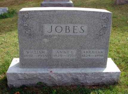 JOBES, ANNE E. - Franklin County, Ohio | ANNE E. JOBES - Ohio Gravestone Photos