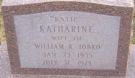 JOBKO, KATHARINE - Franklin County, Ohio | KATHARINE JOBKO - Ohio Gravestone Photos