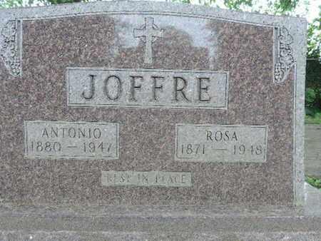 JOFFRE, ANTONIO - Franklin County, Ohio   ANTONIO JOFFRE - Ohio Gravestone Photos