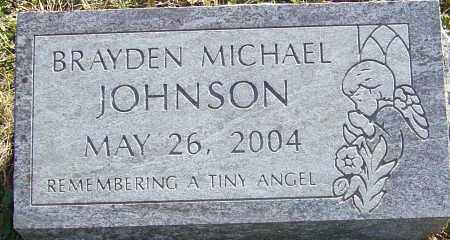 JOHNSON, BRAYDEN MICHAEL - Franklin County, Ohio   BRAYDEN MICHAEL JOHNSON - Ohio Gravestone Photos
