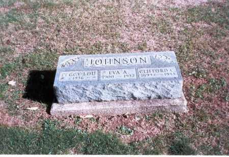 JOHNSON, CLIFFORD C. - Franklin County, Ohio | CLIFFORD C. JOHNSON - Ohio Gravestone Photos