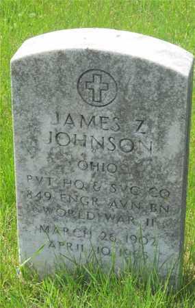 JOHNSON, JAMES Z. - Franklin County, Ohio | JAMES Z. JOHNSON - Ohio Gravestone Photos
