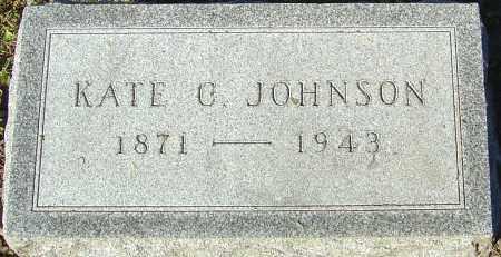 JOHNSON, KATE C - Franklin County, Ohio | KATE C JOHNSON - Ohio Gravestone Photos