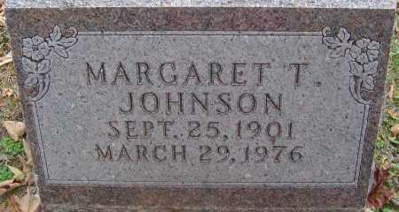 JOHNSON, MARGARET T - Franklin County, Ohio   MARGARET T JOHNSON - Ohio Gravestone Photos