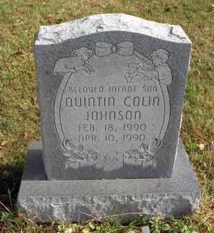 JOHNSON, QUINTIN COLIN - Franklin County, Ohio | QUINTIN COLIN JOHNSON - Ohio Gravestone Photos