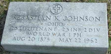 JOHNSON, SEBASTIAN K - Franklin County, Ohio | SEBASTIAN K JOHNSON - Ohio Gravestone Photos