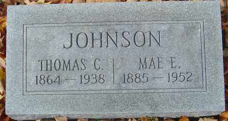 JOHNSON, MAE E - Franklin County, Ohio | MAE E JOHNSON - Ohio Gravestone Photos