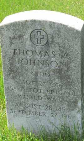 JOHNSON, THOMAS A. - Franklin County, Ohio | THOMAS A. JOHNSON - Ohio Gravestone Photos