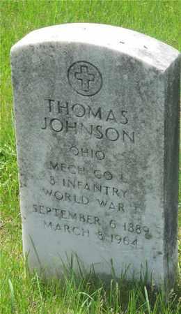 JOHNSON, THOMAS - Franklin County, Ohio | THOMAS JOHNSON - Ohio Gravestone Photos